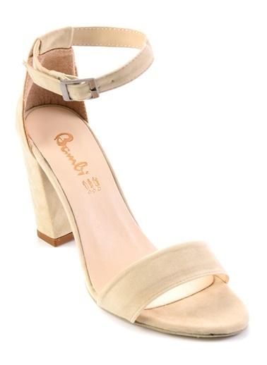 Bambi Topuklu Ayakkabı Bej